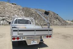 Aluminum platform