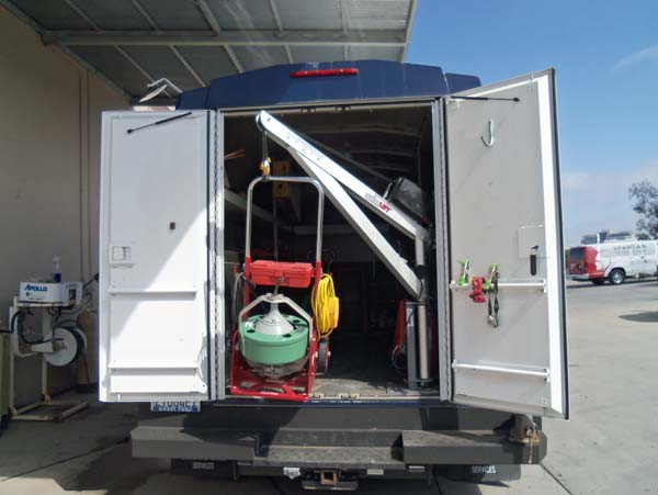 Enclosed Service Body - Plumbing application