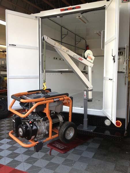 Enclosed Service Body - Bumper mount