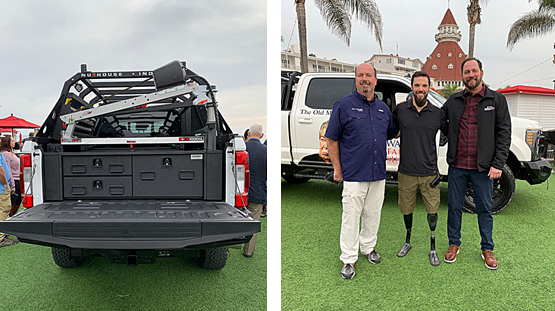 San Diego veteran receives specially designed truck as early Christmas present
