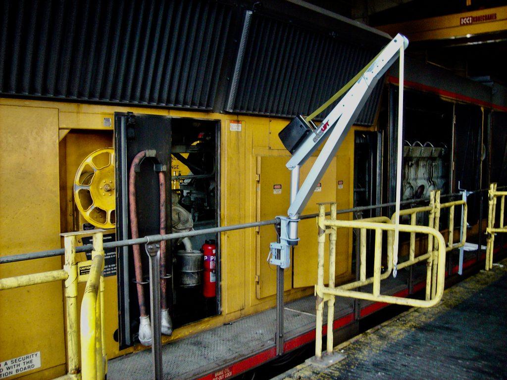 SpitzLift Crane Railway Applications