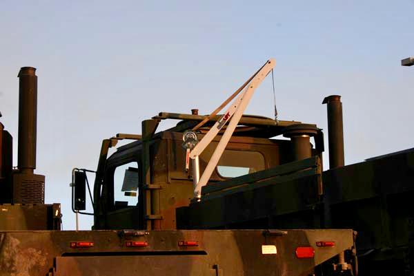 SpitzLift Crane Military Applications