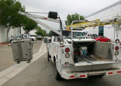 Spitzlift Service Body Crane