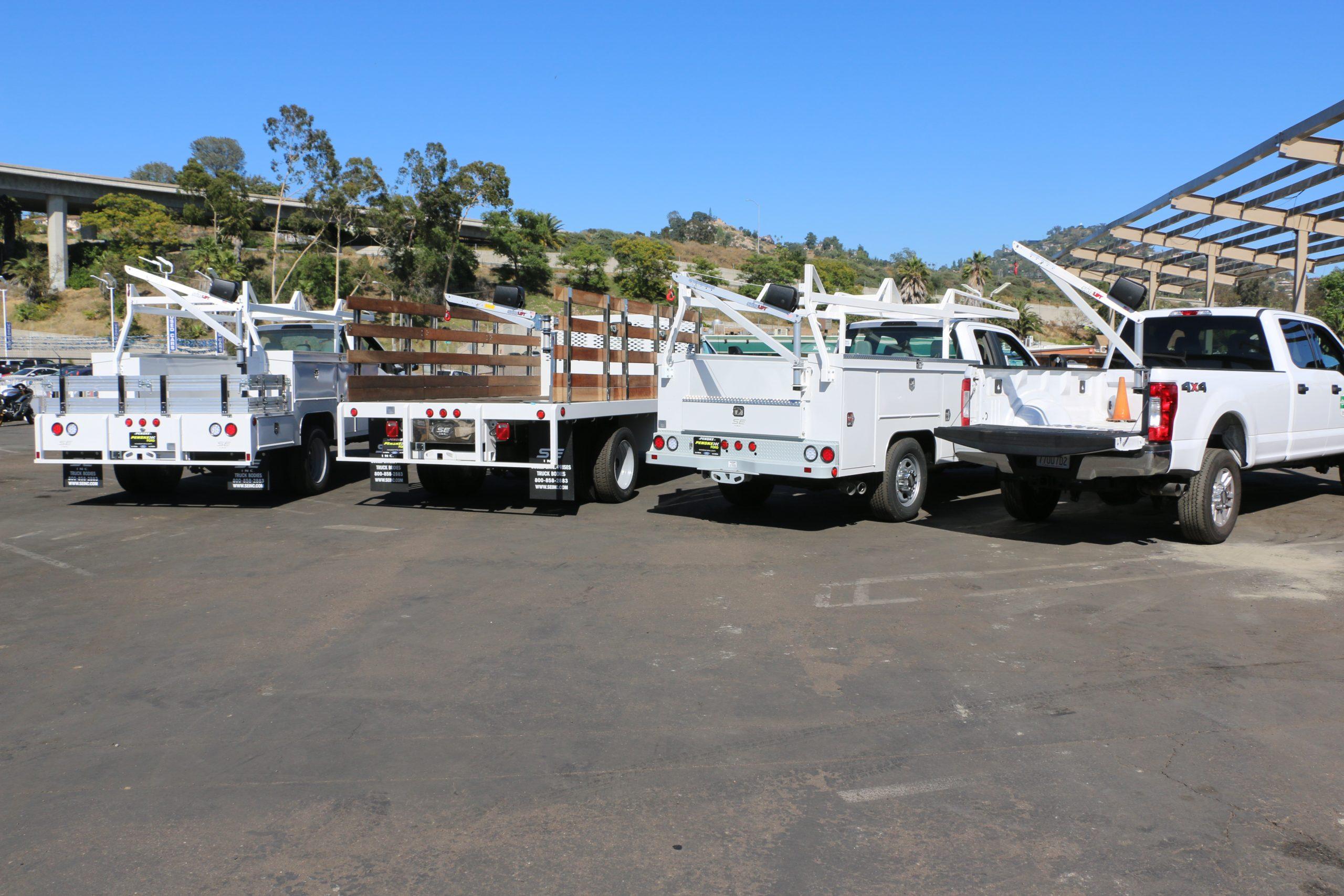 Spitzlift Crane Vehicle Applications